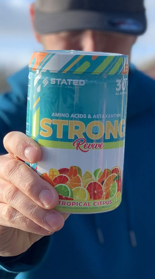 Stated Nutrition Strong Revive Essential Amino Acids and Astaxanthin